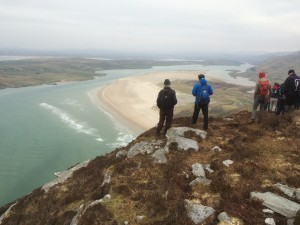 Overlooking Maghera & Loughros