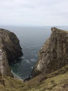 Overlooking Gull island