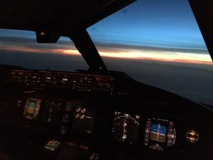 Sunrise over Ardara @ 35,000 feet!