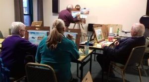 Art Classes in the Heritage Centre