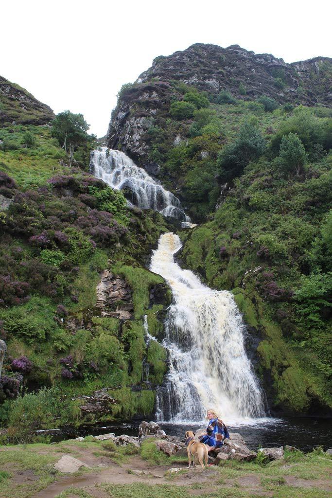 Assaranca Waterfall near Ardara