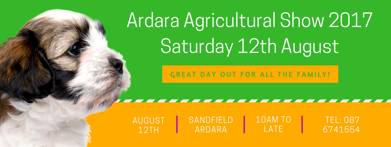 Ardara Agricultural Show Saturday 12th August, 2017