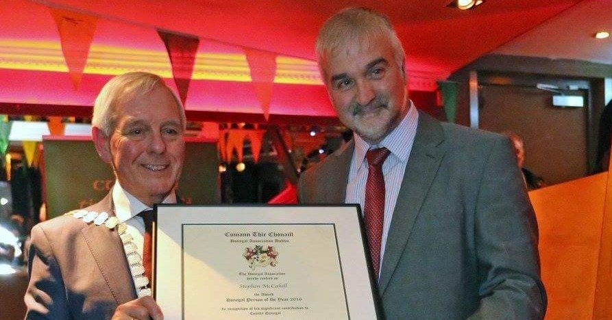 Information Regarding Donegal Person of the Year 2016