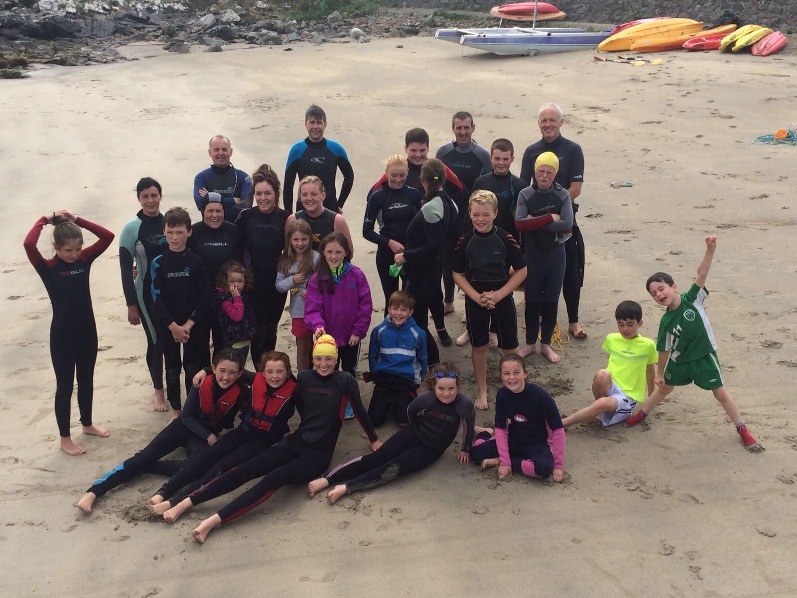 The 'Pier to Beach' club