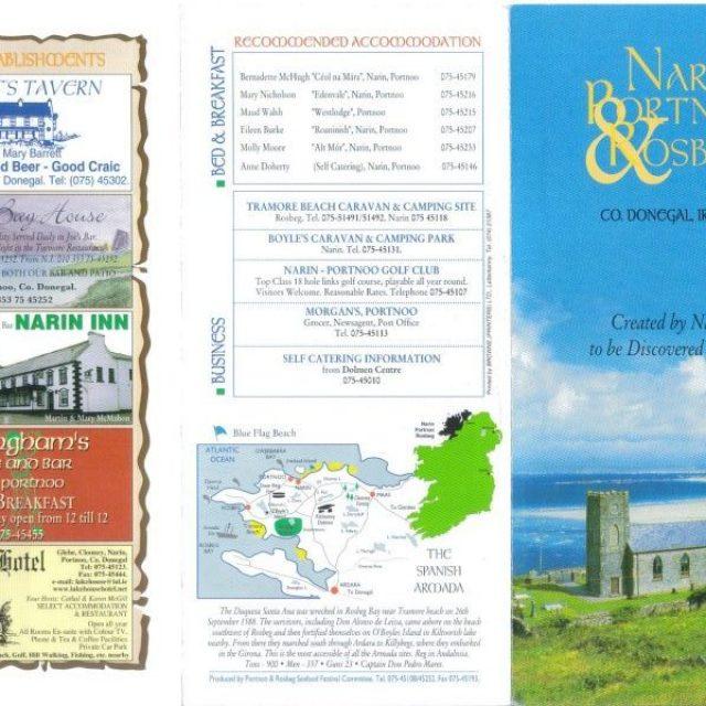 Narin & Portnoo revisit Tourism Brochure