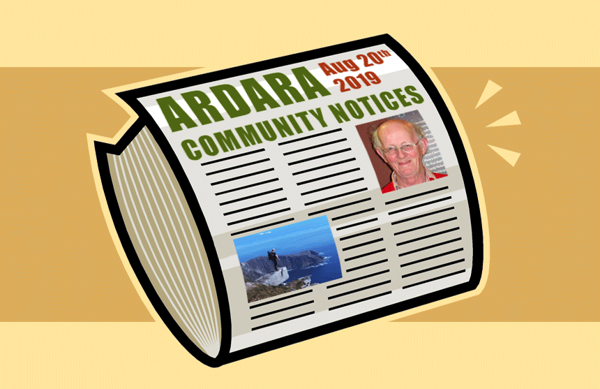 Community Notices 20th August 2019