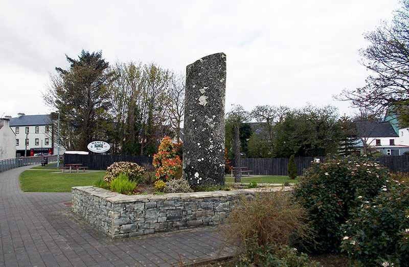Green Light for Plans to move Owenea Standing Stone to Town Car Park