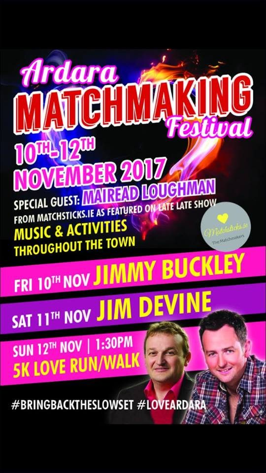 Ardara Matchmaking Weekend – November 10th – 12th