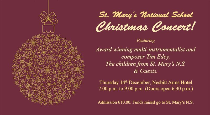St. Mary's N.S. Christmas Concert