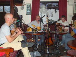 Corner House musicians