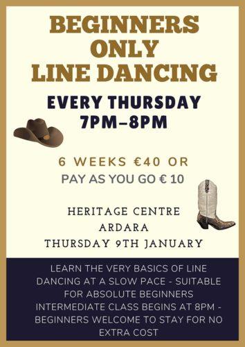 Line Dancing Classes in Ardara