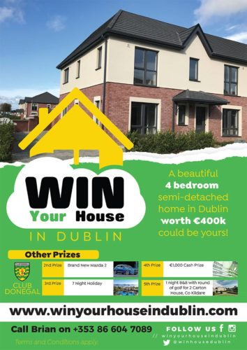 Win your house in dublin